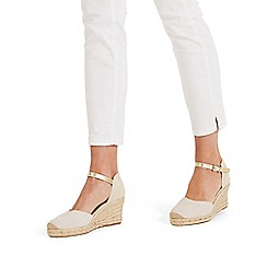 Phase Eight - Neutral Veronica Wedge Shoes