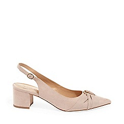 Phase Eight - Natural Giselle Block Heel Court Shoes