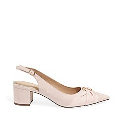 Phase Eight - Pink Giselle Block Heel Court Shoes