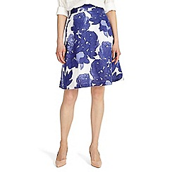 Phase Eight - Multi-coloured isla leaf print skirt