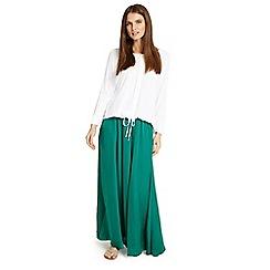 Phase Eight - Green Belinda maxi skirt