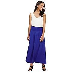 Phase Eight - Blue sam elasticated waist skirt