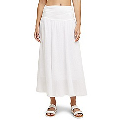 Phase Eight - White natalia skirt