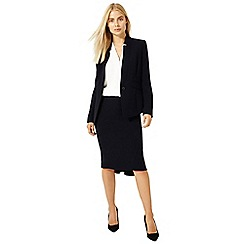 Damsel in a dress - Navy city suit skirt