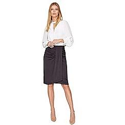 Damsel in a dress - Grey selma slinky skirt