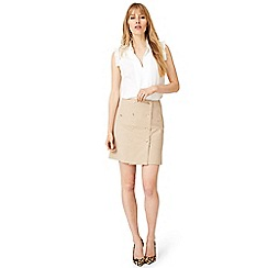 Damsel in a dress - Natural fia safari skirt