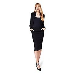 Damsel in a dress - Black lolita suit skirt