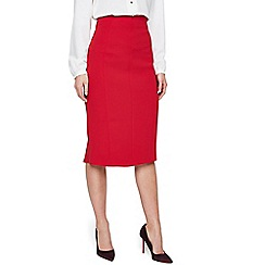 Damsel in a dress - Red isabella city suit skirt