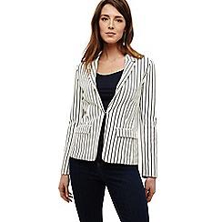 Phase Eight - White quinn stripe blazer