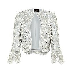 Phase Eight - White Ellise Lace Jacket