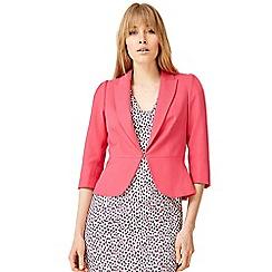 Damsel in a dress - Red wilton peplum jacket