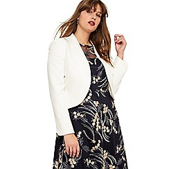 Studio 8 - Sizes 16-26 Ivory caroline jacket