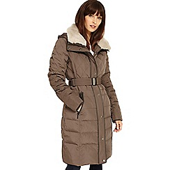 Phase Eight - Deasia long diamond puffer