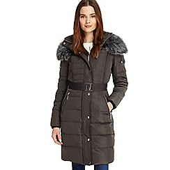 Phase Eight - Brisa long side stitch puffer
