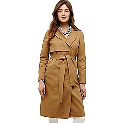 Phase Eight - Natural tayte belted trench coat