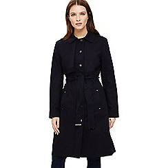Phase Eight - Navy teah trench coat