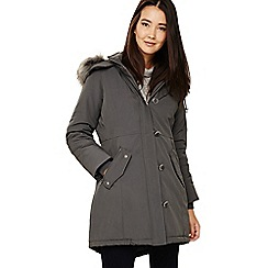 Phase Eight - Grey pina parka coat