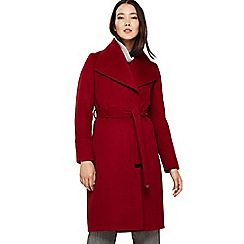 Phase Eight - Red nicci belted coat