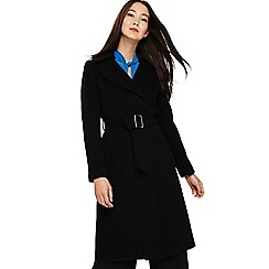 Phase Eight - Black eadie belted coat