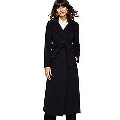 Phase Eight - Blackberry marl mel belted coat