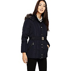 Phase Eight - Navy selah short panel puffer coat