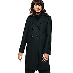 Phase Eight - Green betsie button cuff coat