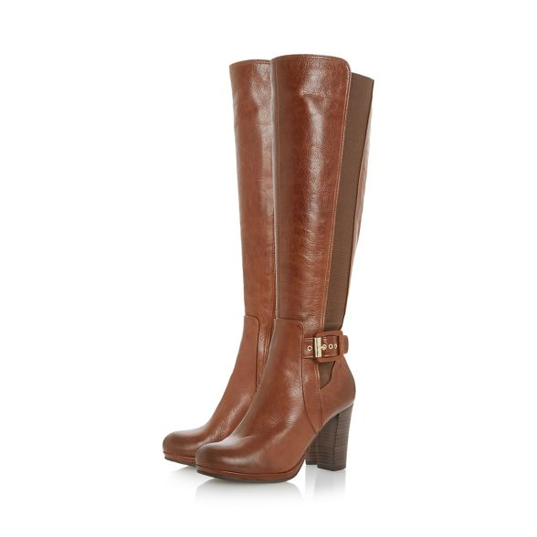knee buckle boots 'Scout' detail Dune Tan high xRqavw0I