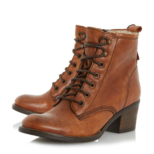 d' lined ankle Dune boot Tan warm 'Patsie 6axx7TqO
