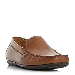 Dune - Tan 'Bob di' slip on loafer