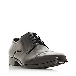 Dune - Black 'Popyrus' laser toe cap gibson shoes