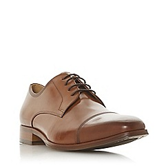 Dune - Tan 'Popyrus' laser toe cap gibson shoes