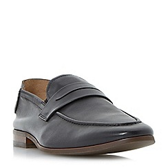 Dune - Black 'Royal di' fold down loafers
