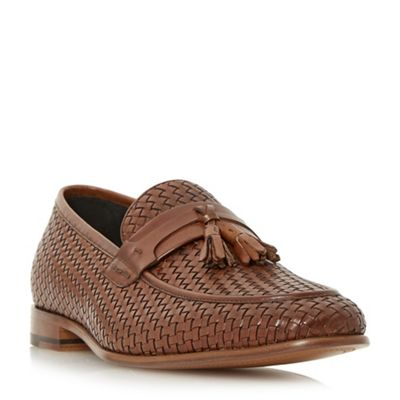 Dune - loafers Tan 'Paolo' woven tassel loafers - shoes 5287ec