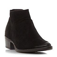 Steve Madden - Black suedePhoenix block heel ankle boots