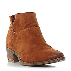 Steve Madden - Tan suedePhoenix block heel ankle boots