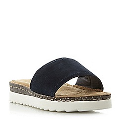Roberto Vianni - Navy 'Loiss' shark sole flatform sandals