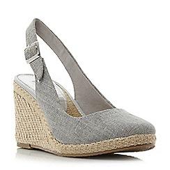 Cheap forfice Black Nickle Suedette Platform Sandals for Women Outlet