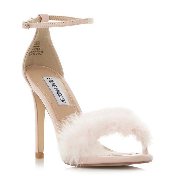 Steve Madden sandals Pink heel 'Scarlett' high ZZx7rHdqw