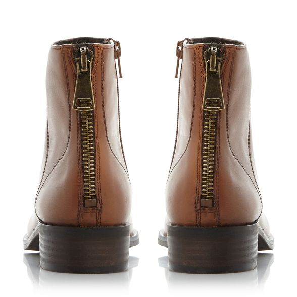 boots nbsp; leather 'Rileey' Brown Steve nbsp; heel ankle block Madden 0apwqtwv