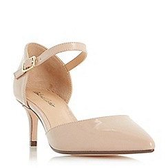 Roland Cartier - Natural 'Dainty' two part mid heel court shoes