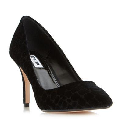 Dune - Black 'aisha' high heeled court shoes