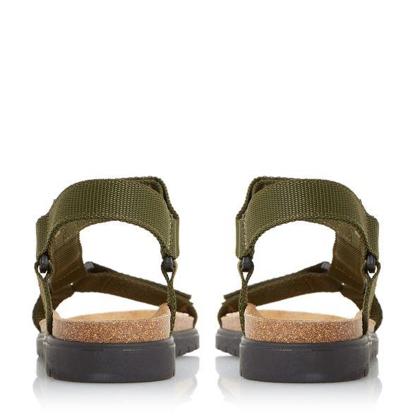Dune adventure tape 'Iggy' rip sandals Khaki rx8qIgHnr