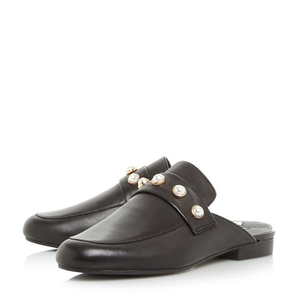loafers Steve Black leather 'Kandi p' Madden xCxSR