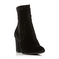 Steve Madden - Black 'Avenue' high block heel ankle boots
