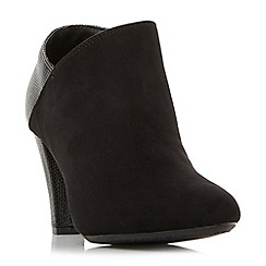 Roberto Vianni - Black 'Opollo' heeled shoe boots