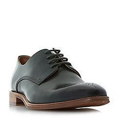 Dune - Green 'Placebo' natural sole gibson shoes