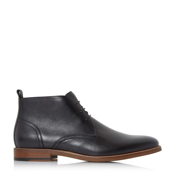 toe boots Dune round 'Magnus' Black chukka q1O4pUz