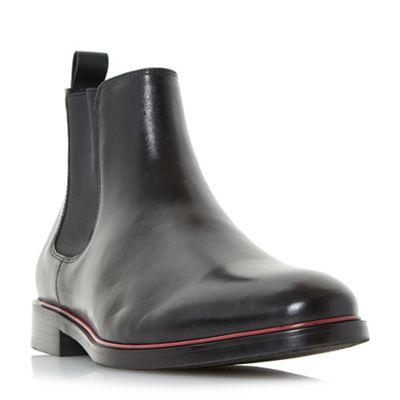 Dune - Black 'Mars' smart colour pop chelsea boots