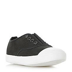 Head Over Heels by Dune - Black 'Emika' slip on shoes