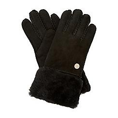 Dune - Black 'Izzey' shearling glove